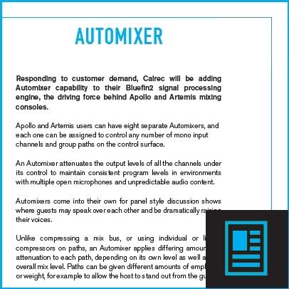 Automixer flyer
