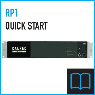 RP1 Quick Start