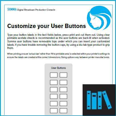 Summa User Buttons