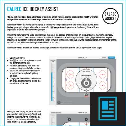 Assist Ice Hockey