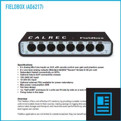 fieldbox flyer image