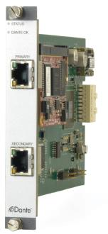 Dante/AES67 Card with Network Redundancy