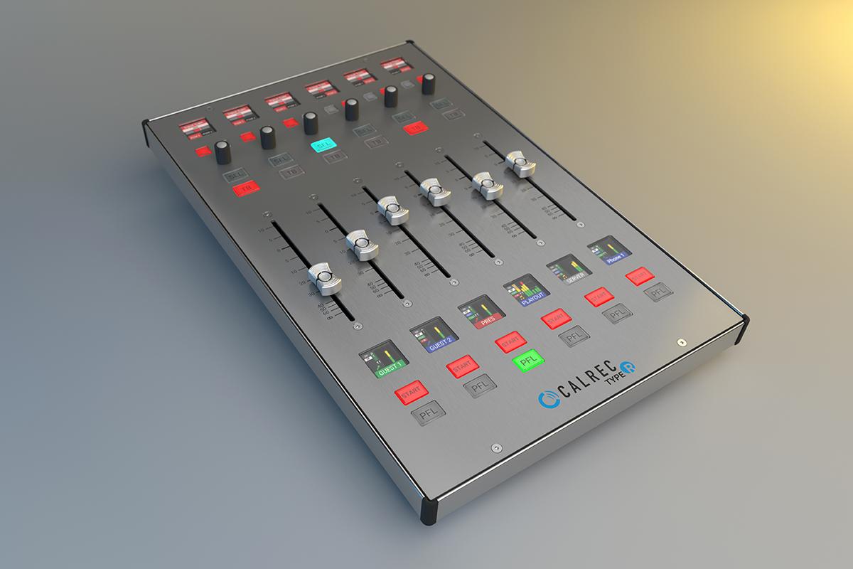 Type R fader panel