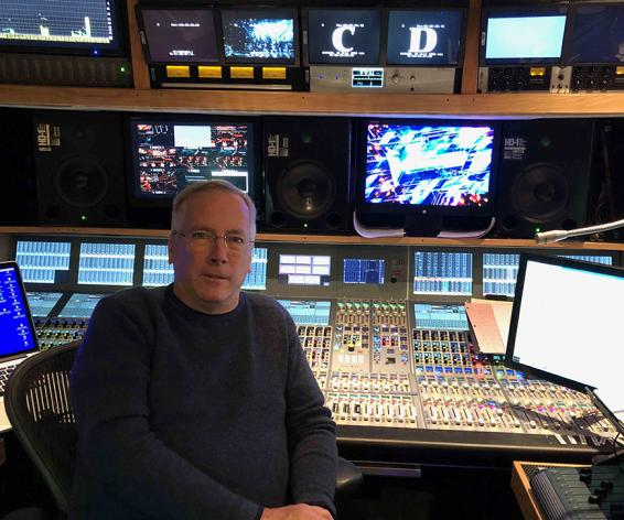 Full Sail University HD Studio lab with brio by Calrec Audio Broadcast Console.