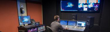 Summa by Calrec Audio Broadcast Console at Full Sail University