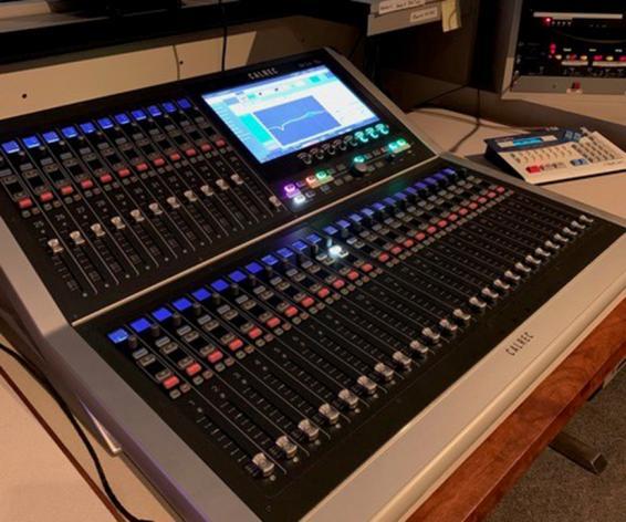 Calrec Brio digital mixing console KUED