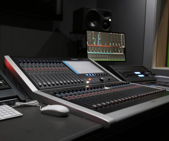 Calrec Brio digital mixing console at LIPA