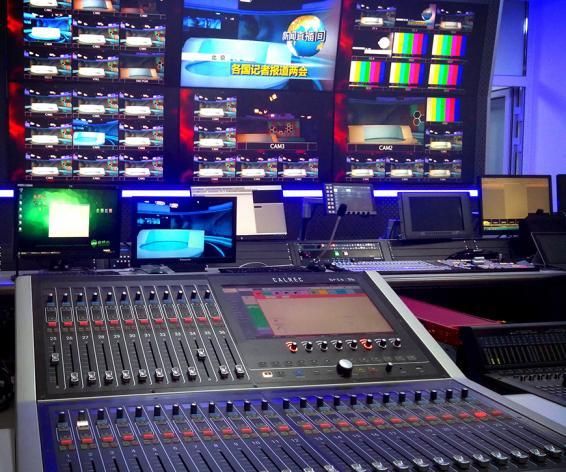 Calrec Brio digital mixing console Shanxi TV