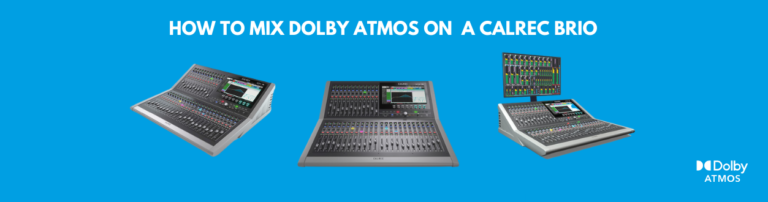 Dolby Atmos® Training on Immersive Mixing