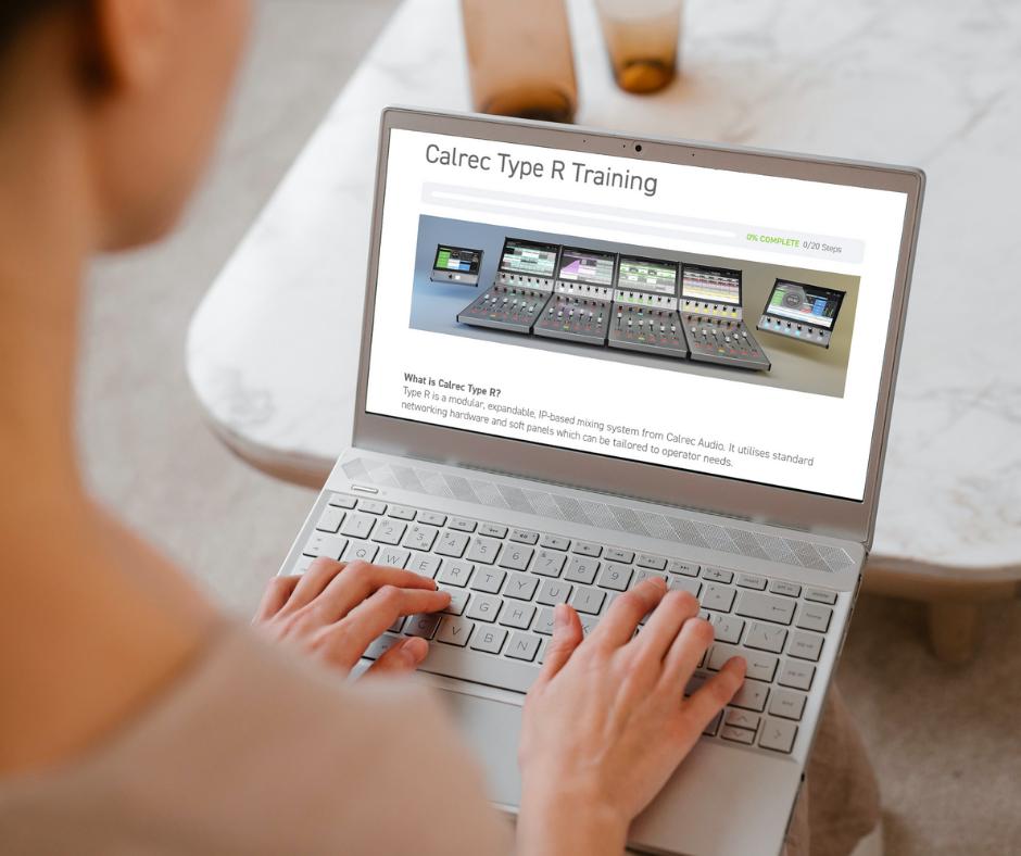Type R training on Calrec Sound Institute