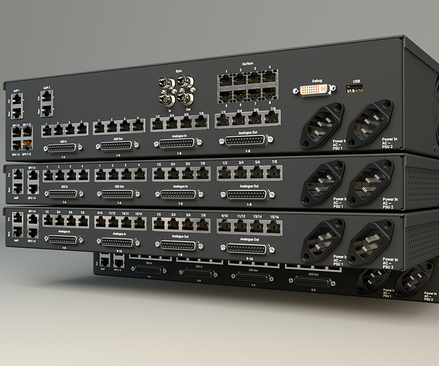 Type R IO rack connectivity