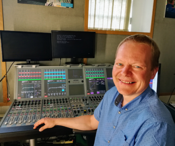 Meet Your Maker: Product Engineer, Joe Gulaiczuk at Calrec Audio