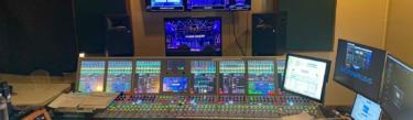 Calrec Artemis installed at a major TV network by Drop Ship Audio.