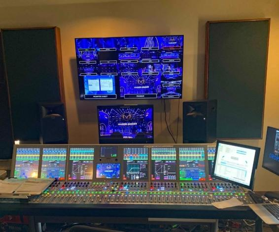 Calrec Artemis audio console is being used on a popular reality show with a major US network.