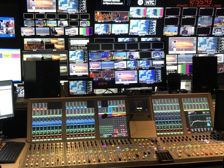 Covering traditional TV and OTT: A case study with Valencian local TV station À Punt Media and Calrec's Spanish partner COEL