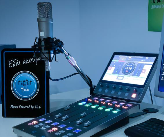 Pepper FM with Calrec Type R